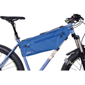 Acepac Zip Frame Bag Bike Pannier M blue